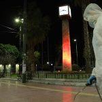 Απολύμανση κοινόχρηστων χώρων από τον Δήμο Πειραιά