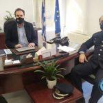 Συνάντηση του Δημάρχου με τον νέο Αστυνομικό Διευθυντή Φλώρινας