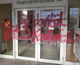 Βανδάλισαν το Γενικό Προξενείο Στουτγκάρδης για τον Κουφοντίνα