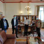 Συνάντηση Δημάρχου Κοζάνης με τη διοίκηση του Συλλόγου Πολιτικών Υπαλλήλων ΥΕΘΑ/ΓΕΣ Δ. Μακεδονίας