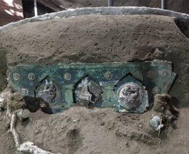 Μεγάλη ανακάλυψη στην Πομπηία – Στο φως άθικτο ρωμαϊκό άρμα