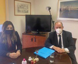 Συνάντηση του Δημάρχου Δίου-Ολύμπου με την Υφυπουργό Τουρισμού