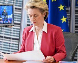 Σε εξέλιξη η τηλεδιάσκεψη κορυφής των ηγετών των 27 κρατών-μελών της ΕΕ με επιδημιολογική ατζέντα
