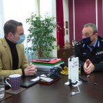 Συνάντηση Δημάρχου Καστοριάς με τον νέο Διοικητή Περιφερειακής Πυροσβεστικής Υπηρεσίας Δ. Μακεδονίας
