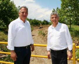Θεσσαλία: Νέα έργα αντιπλημμυρικής προστασίας 15 εκ. ευρώ σε τμήμα του Πηνειού