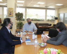 Συνάντηση Πατούλη με τον Πρόεδρο της Ελληνικής Παραολυμπιακής Επιτροπής