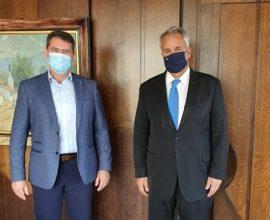 Συναντήσεις Δημάρχου Χερσονήσου με Υπουργούς Εσωτερικών και Τουρισμού