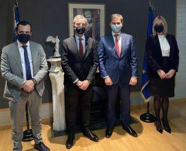 Δήμος Θεσσαλονίκης: Συνάντηση Κ. Ζέρβα με τον Υπουργό Τουρισμού
