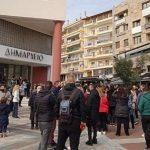 Νέα συγκέντρωση διαμαρτυρίας για το καθολικό lockdown στον δήμο Ευόσμου-Κορδελιού