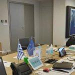 Σύσκεψη του Νίκου Χαρδαλιά με τους Περιφερειάρχες για την πορεία της πανδημίας
