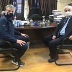 Συνάντηση Δημάρχου Ορεστιάδας με τον Πρύτανη του Δ.Π.Θ Αλ. Πολυχρονίδη