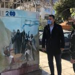 Δήμος Παλαιού Φαλήρου: Φιλοτέχνηση καφάο με ήρωες της Ελληνικής Επανάστασης
