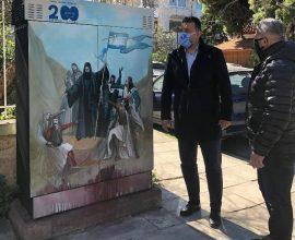 Παλαιό Φάληρο: Φιλοτέχνηση καφάο με ήρωες και σημαντικά γεγονότα της Ελληνικής Επανάστασης