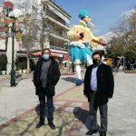 Δήμος Πύργου: Εντυπωσιακοί μπάστακες και μάσκες στολίζουν την πόλη