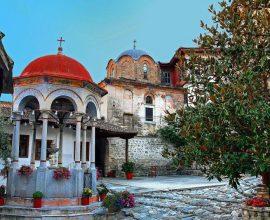 Νέα μεγάλη παρέμβαση της Περιφέρειας Κεντρικής Μακεδονίας στην Ιερά Μονή Τιμίου Προδρόμου στις Σέρρες