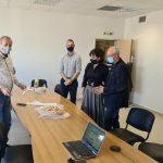 Διαδικτυακά έκοψαν τη βασιλόπιτα οι εργαζόμενοι της Περιφέρειας Κεντρικής Μακεδονίας