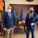 Συνάντηση Δημάρχου Καβάλας με τον Αναπληρωτή ΥΠΕΣ Στέλιο Πέτσα