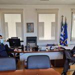 Συνάντηση Δημάρχου Λυκόβρυσης-Πεύκης με τον βουλευτή Γιώργο Κουμουτσάκο