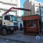 Απομάκρυνση ανενεργών περιπτέρων στην πόλη της Φλώρινας