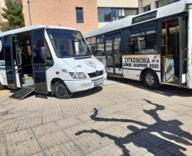 Δήμος Αχαρνών: Πρεμιέρα για τη Δημοτική Συγκοινωνία στη γραμμή «Ολυμπιακό Χωριό – Σταθμός Κάτω Αχαρναί»