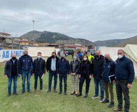 Δήμος Τυρνάβου: Επίσκεψη της Υφυπουργού Παιδείας και Θρησκευμάτων στο Δαμάσι