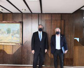Συνάντηση Δημάρχου Παιανίας με ΥΠΕΣ – Στην ατζέντα η πανδημία και τα διαχρονικά προβλήματα που απαιτούν λύση