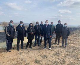 Δήμος Κατερίνης: Ολοκληρώνεται η στεγανοποίηση των Λιμνοδεξαμενών Ελάφου & Π.Κεραμιδίου