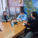 Συνάντηση Δημάρχου Πύργου με τον Διευθύνοντα Σύμβουλο του ΟΣΕ