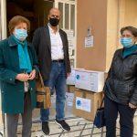 ΠΔΕ: Υγειονομικό υλικό στην «Κιβωτό της Αγάπης»