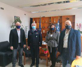 Συνεργασία της Περιφέρειας Δυτικής Ελλάδας με τα Σώματα Ασφαλείας