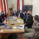 ΠΔΕ: Επίσκεψη Χ. Μπονάνου στο Δημαρχείο Αιγιάλειας