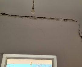Π.Ε. Καρδίτσας: Σημαντικές οι ζημιές από το σεισμό στο δημοτικό σχολείο της Τ.Κ Κοσκινά