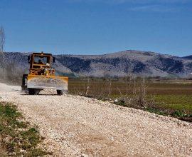 Π.Ε. Καρδίτσας: Αποκατάσταση κι ενίσχυση αναχωμάτων στην Τ.Κ. Μεταμόρφωσης Δήμου Παλαμά