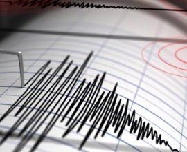Σεισμός 4,1 Ρίχτερ νοτιοανατολικά της Ιεράπετρας