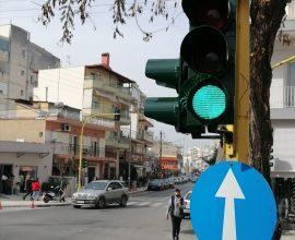Δήμος Κορδελιού Εύοσμου: Ολοκληρώθηκε η αντικατάσταση σηματοδοτών