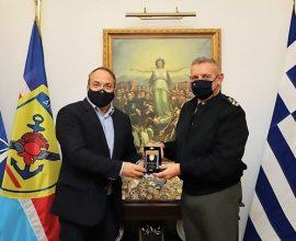 Συνάντηση Δημάρχου Βούλας-Βάρης-Βουλιαγμένης με τον Αρχηγό ΓΕΕΘΑ