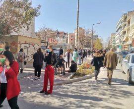 Σεισμός: Στους δρόμους βγήκαν οι Λαρισαίοι