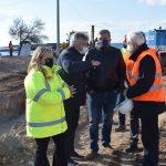 Δήμος Κρωπίας: Περιοδεία Πατούλη και Κιούση στο μεγάλο αντιπλημμυρικό έργο στην Αγία Μαρίνα