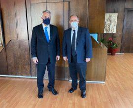Με τον Υπουργό Εσωτερικών συναντήθηκε ο Δήμαρχος Δίου – Ολύμπου