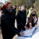 Επίσκεψη Πατούλη στα αντιπλημμυρικά έργα στο ρέμα Κόρμπι στη Λ. Βάρης –Κορωπίου