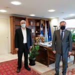 Συνάντηση Δημάρχου Αμαρουσίου με τον Βουλευτή Γ. Κουμουτσάκο