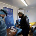 Rapid Test από τις Κινητές Ομάδες Περιφέρειας Αττικής και ΙΣΑ, στο Πεδίον του Άρεως