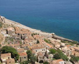 Περιφέρεια Πελοποννήσου: Ξεκινά το έργο στερέωσης του κάστρου της Μονεμβασιάς