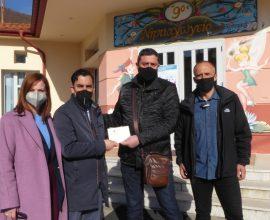 Δωρεά 52 επιτραπέζια παιχνίδια για τις ανάγκες όλων των νηπιαγωγείων του Δήμου Καστοριάς