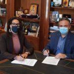 Σύμφωνο συνεργασίας Δήμου Κεντρικής Κέρκυρας και Τμήματος Πληροφορικής