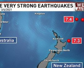 Ισχυρότατος σεισμός 8,1 Ρίχτερ στη Νέα Ζηλανδία- Προειδοποίηση για τσουνάμι