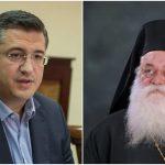 """Τζιτζικώστας: """"Το Κιλκίς, η Κεντρική Μακεδονία και η Εκκλησία θρηνεί την απώλεια του Μητροπολίτη Εμμανουήλ"""""""