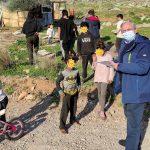 Ενημέρωση και διανομή μασκών στους οικισμούς Ρομά του Δήμου Μάνδρας-Ειδυλλίας