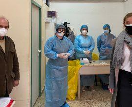 Δήμος Μοσχάτου-Ταύρου: Rapid test σε άστεγους πολίτες και ωφελούμενους των Κοινωνικών Δομών