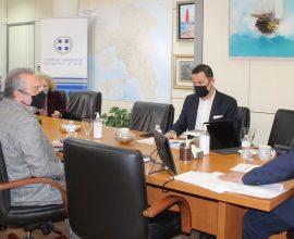 Περιφέρεια Αττικής: Συνάντηση Πατούλη με το Δήμαρχο Καισαριανής Χ. Βοσκόπουλο